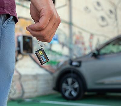 כרטיס RFID להזדהות בעמדה ציבורית;